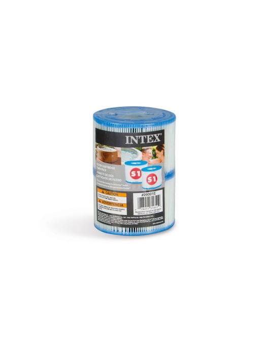 Intex S1 típusú szűrőbetét jakuzzihoz 2db
