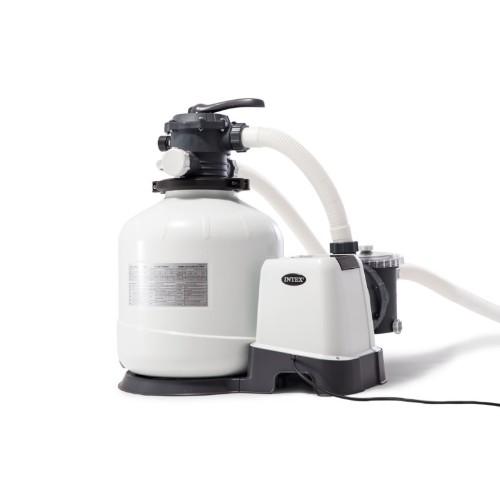 Intex homokszűrő sóbontóval 10000/8000 liter/óra