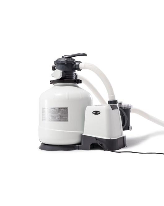 Intex homokszűrő sóbontóval 6000/5700 liter/óra