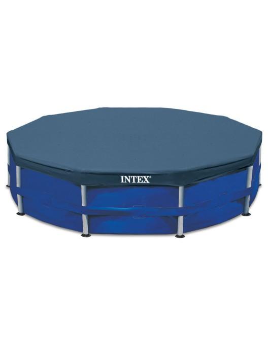 Intex takaró 4,5m fémvázas medencére