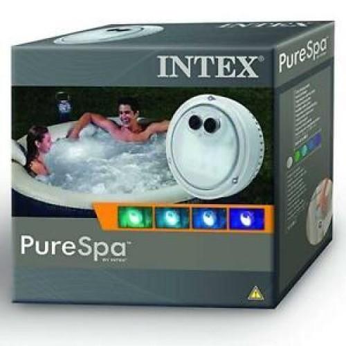 Intex jakuzzi hangulatvilágítás LED, elemes