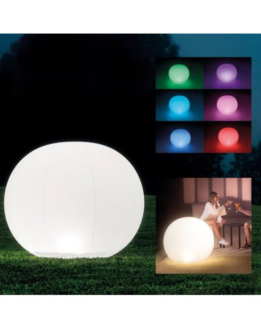 Intex úszó gömb hangulatvilágítás LED-es