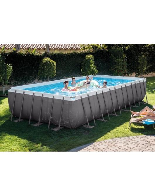 Intex ULTRA XTR vázas medence szett 732x366x132 cm homokszűrővel